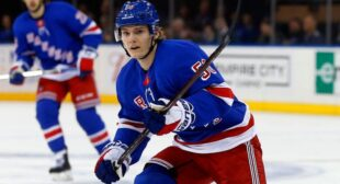 A Closer Look at Lias Andersson | New York Sports Nation
