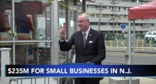 New Jersey Governor Phil Murphy to issue $235 million for small business aid – 6abc Philadelphia