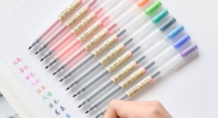 12 Pcs/lot Creative 12 Colors Gel Pen 0.5mm Colour Ink Pens Marker Writing Stationery Fashion Style School Office Supplies Gift – Hot Price #D587   Sirohame