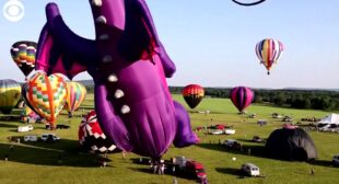 WEB EXTRA: Hot Air Balloon Festival In New Jersey