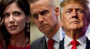 The Kristi Noem and Corey Lewandowski affair allegations weren't the only insane thing that happened in Trump World this week.